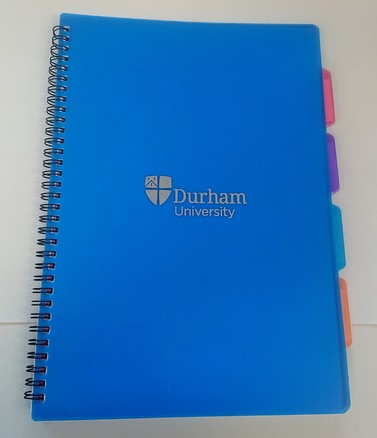 University A4 4-Subject Notebook - Blue