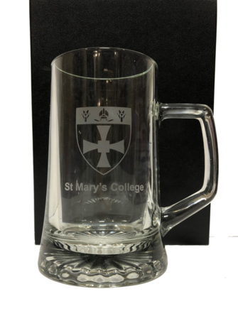 St. Mary's Glass Tankard