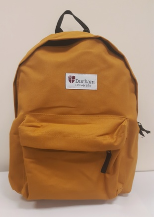 University Backpack - Mustard Yellow