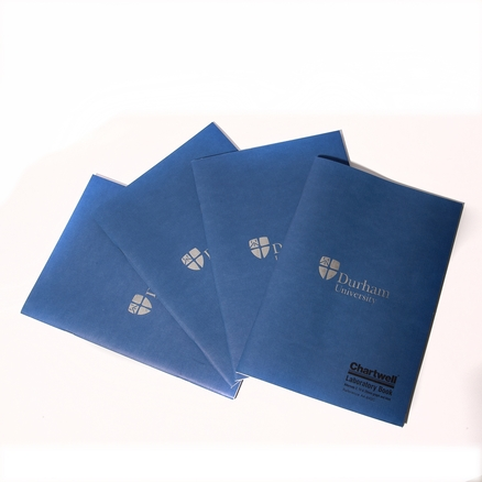 Chartwell Softback Lab Book Blue