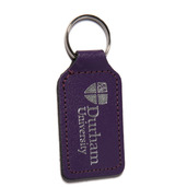 University Leather Keyring