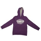 Fairtrade Waffle Hoody Purple