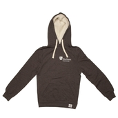 Fairtrade Chunky Hoody Charcoal