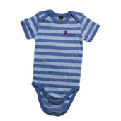 Baby Stripe Bodysuit Blue