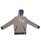 Grey Lightweight Zip Up Hoody