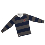 Striped Rugby shirt Grey/Navy