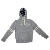 Zip-Up Hoody Grey