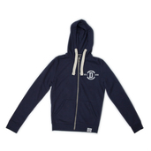 Zip-Up Hoody Navy