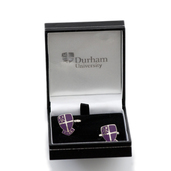 Durham University Business School Enamel Crest Cufflinks