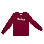 Kangaroo Pocket Sweatshirt Cranberry