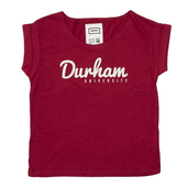 Women's Slouch T-Shirt Cranberry