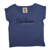 Womans Slouch T-Shirt Yale Blue