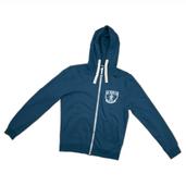Zip Hoody - Saxony Blue
