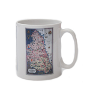Northumberland and Durham Rail Mug - Portrait