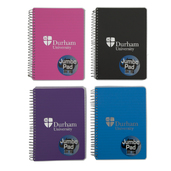 A5 Polyprop Jumbo Notebook - Black