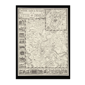 Tavernes Innes & Ale-houses in Durham City Print