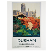 Durham Cathedral  Rail Print