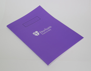 A4 Lined Exercise Book Purple