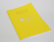 A4 Lined Exercise Book Yellow