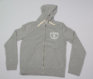 Zip Up Hoody - Grey
