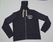 Zip Up Hoody - Navy