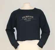 Fairtrade Women's Chelsea Cropped Sweatshirt - Navy