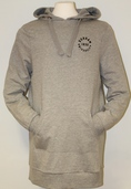 Fairtrade Women's  Hooded Sweater Dress - Grey