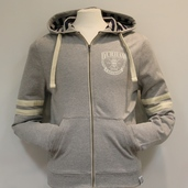 Fairtrade Lightweight Zip-up Hoody - Grey
