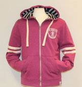 Fairtrade Lightweight Zip-Up Hoody - Pink