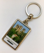 Durham Cathedral Metal Keyring