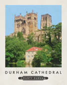 Durham Cathedral Print 11x14