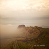 Housesteads Crag Hadrian's Wall Print -Small