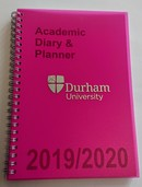Durham University Academic Diary - Pink