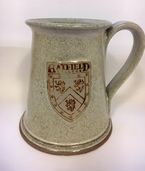 Hatfield College Ceramic Tankard - Cream