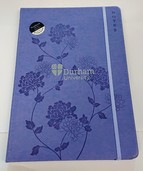 A4 Easynote Notebook - Lilac