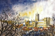Jenny Ulyatt Durham Through The Trees