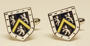Hatfield cufflinks yellow metal
