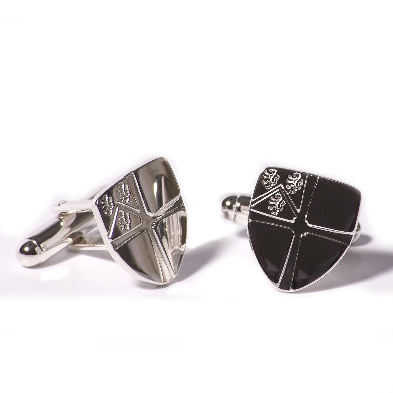 sterling silver plectrum cufflinks by david-louis design ... |Silver Cufflinks