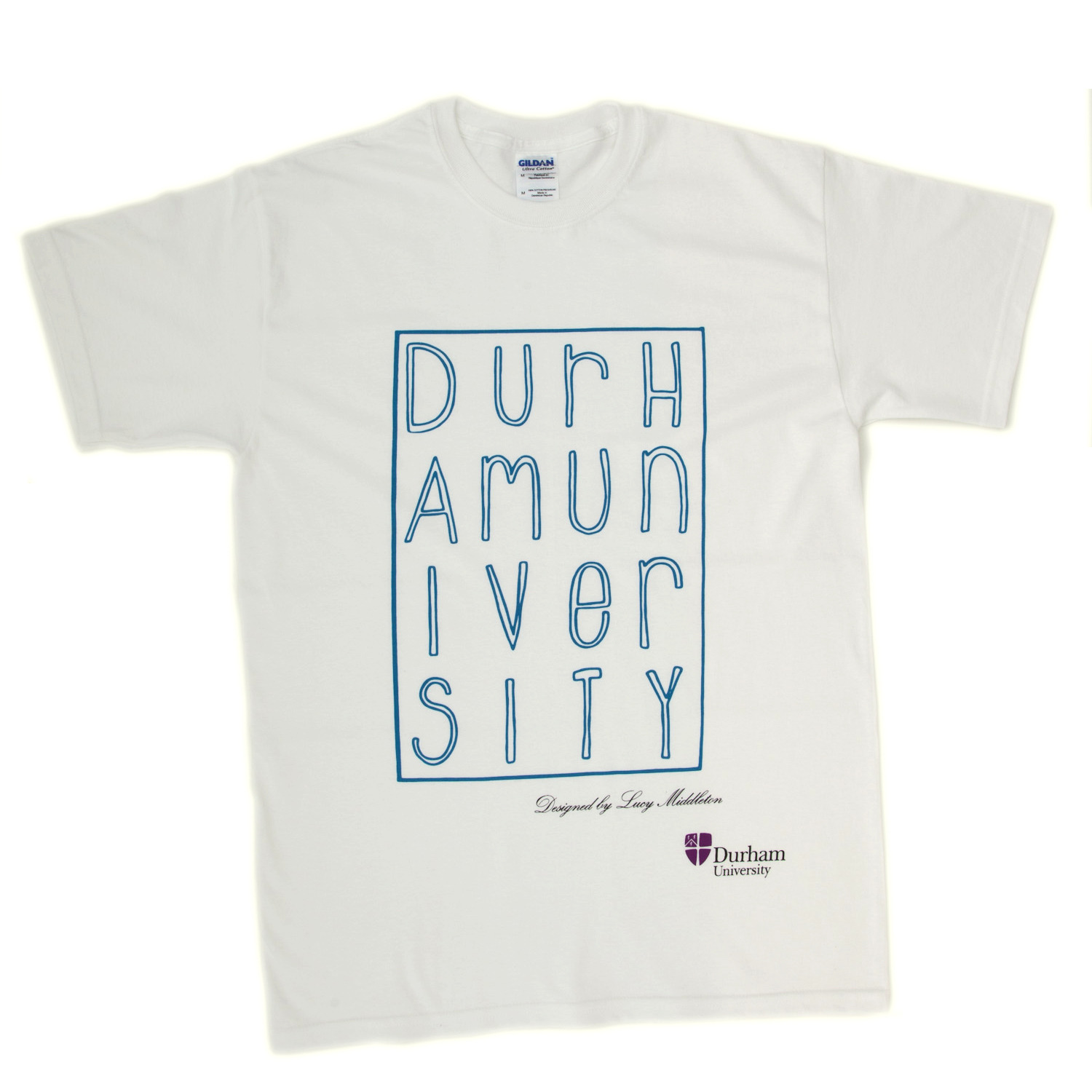 Student designed t shirt at durham university official shop for Architecture student t shirts