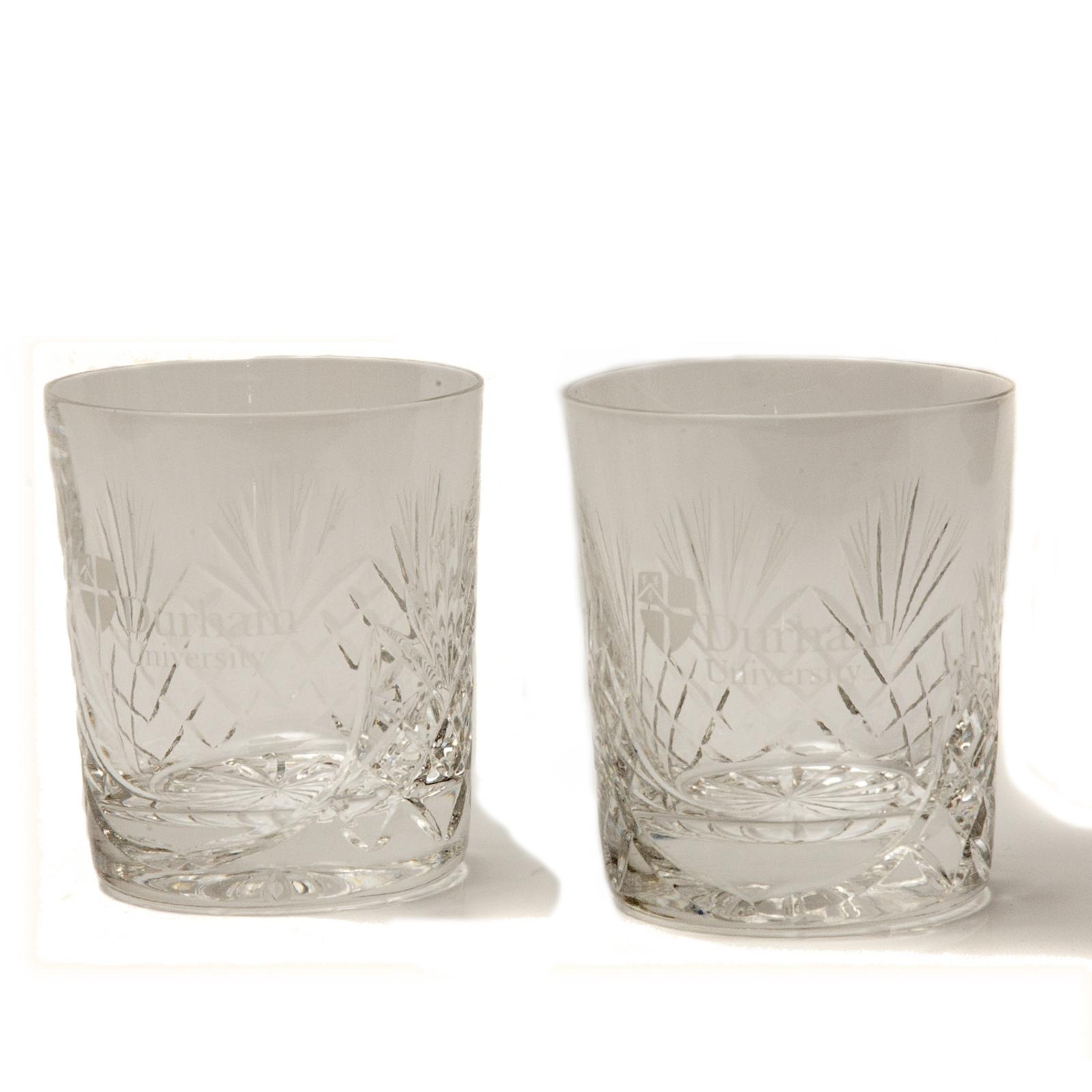 whisky glass set at durham university official shop. Black Bedroom Furniture Sets. Home Design Ideas
