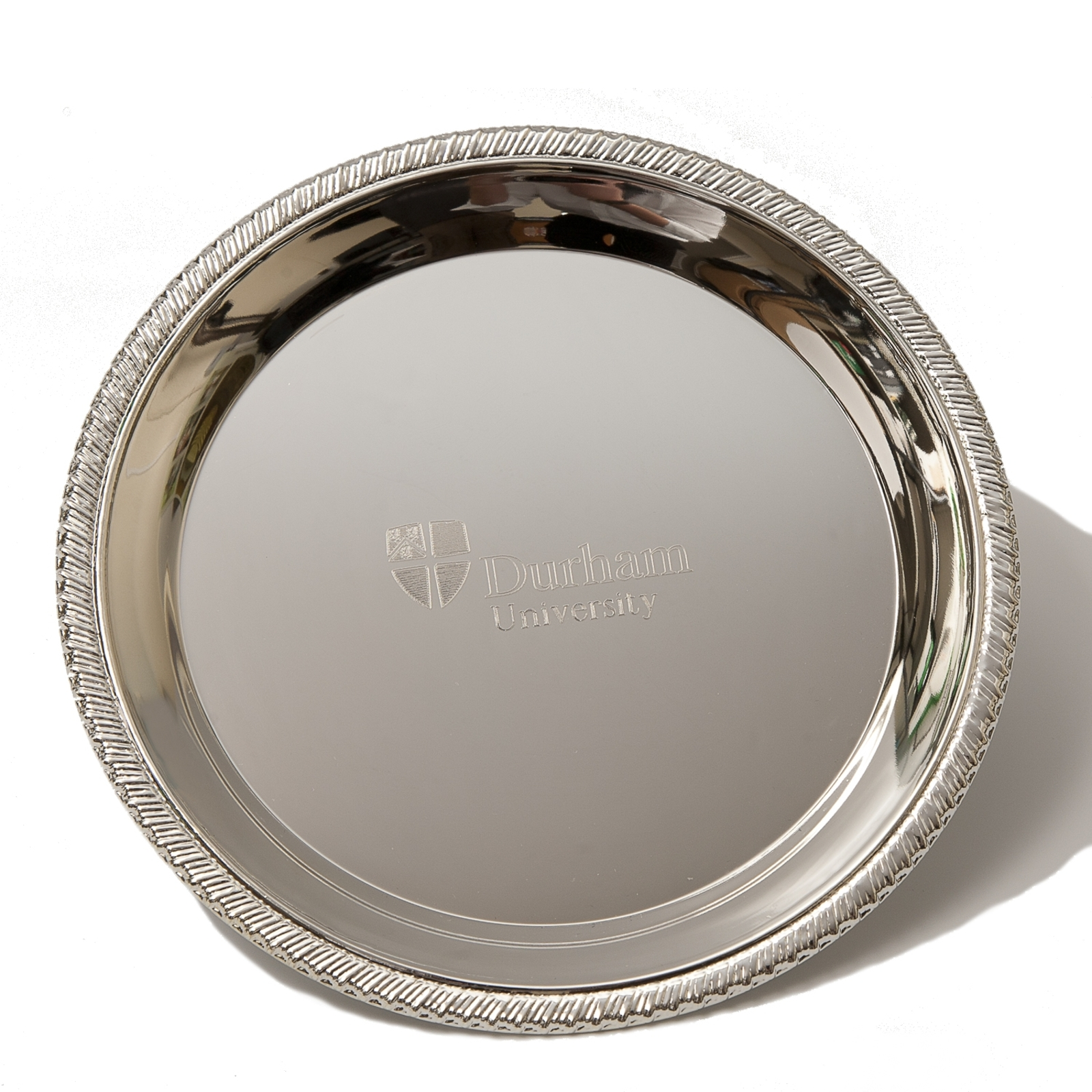 Silver Salver at Durha...
